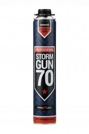 Пена монтажная PROFFLEX PRO Storm Gun 70л (зима) (12шт)