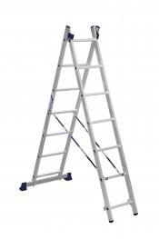 Лестница 2-секционная алюминиевая (3,08м)