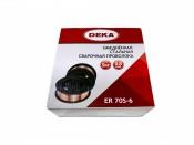 Проволока сварочная DEKA ER70S-6 1,2мм (15кг) (Китай)